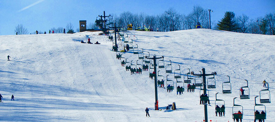 Youth Skiing and Snow Tubing