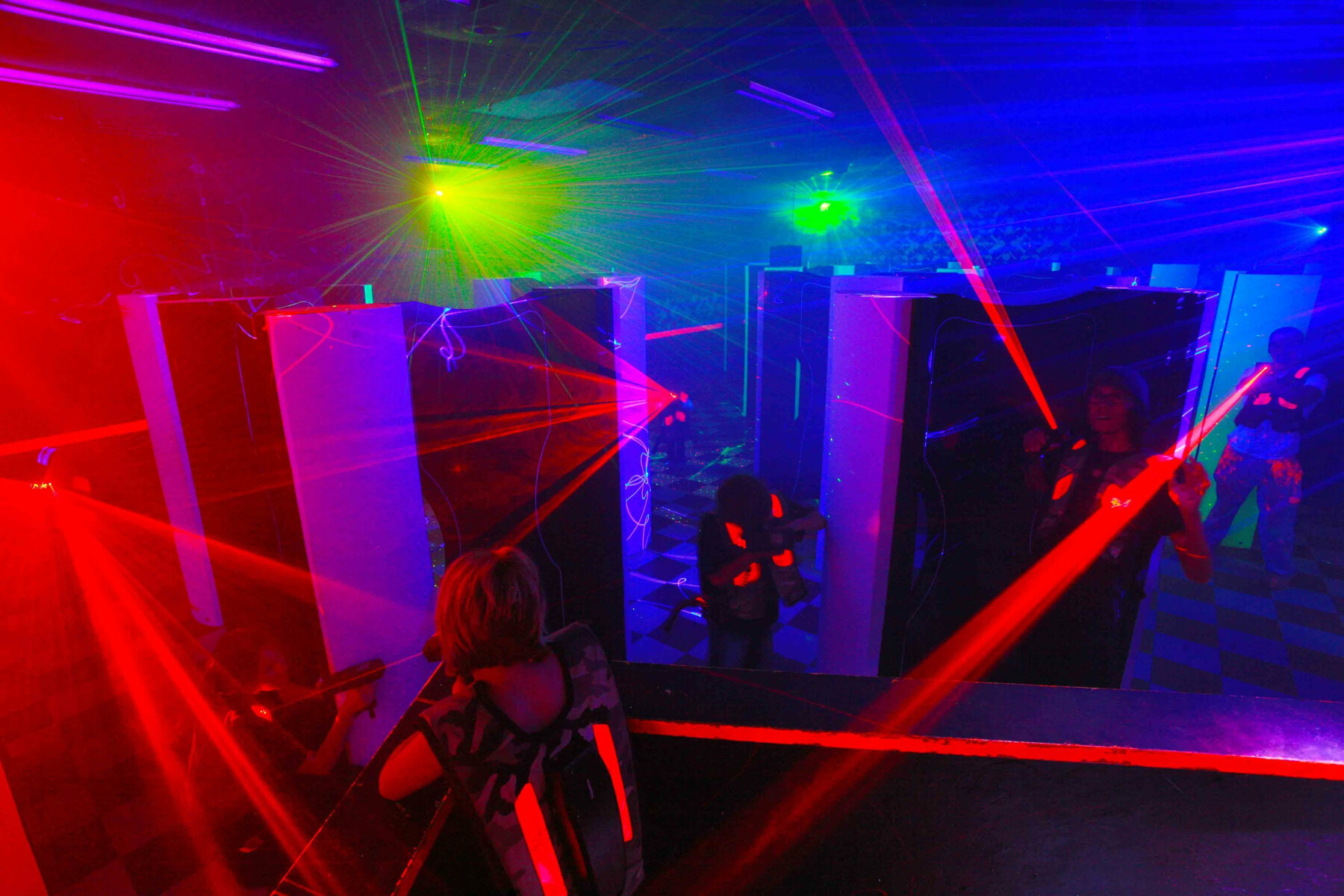 Laser Tag Lock-In